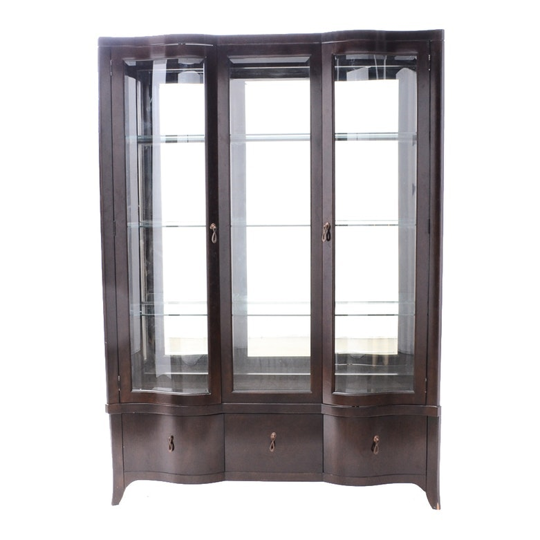 Contemporary China Curio Cabinet