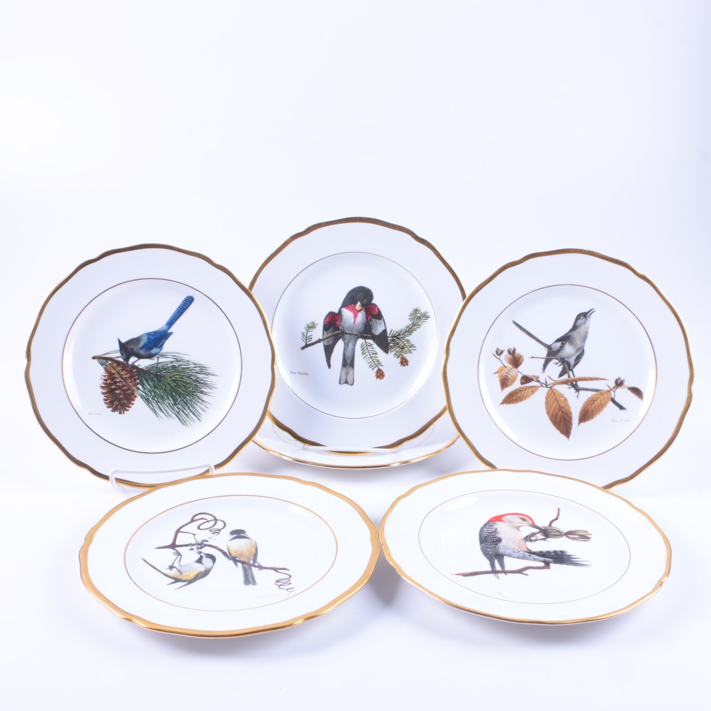 Spode 'American Songbird' Collectible Plates
