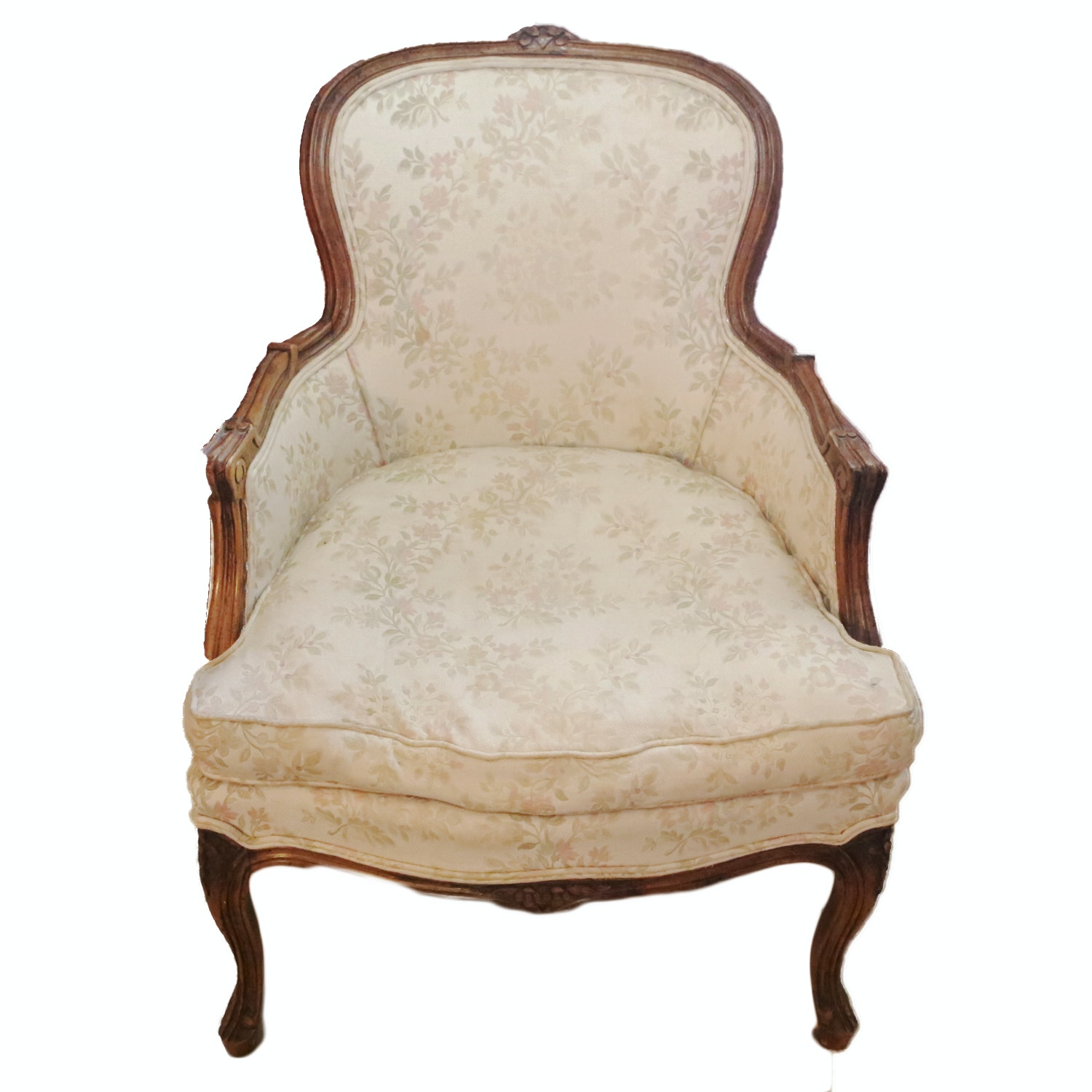 Vintage French Provincial Style Armchair by Century Chair Company