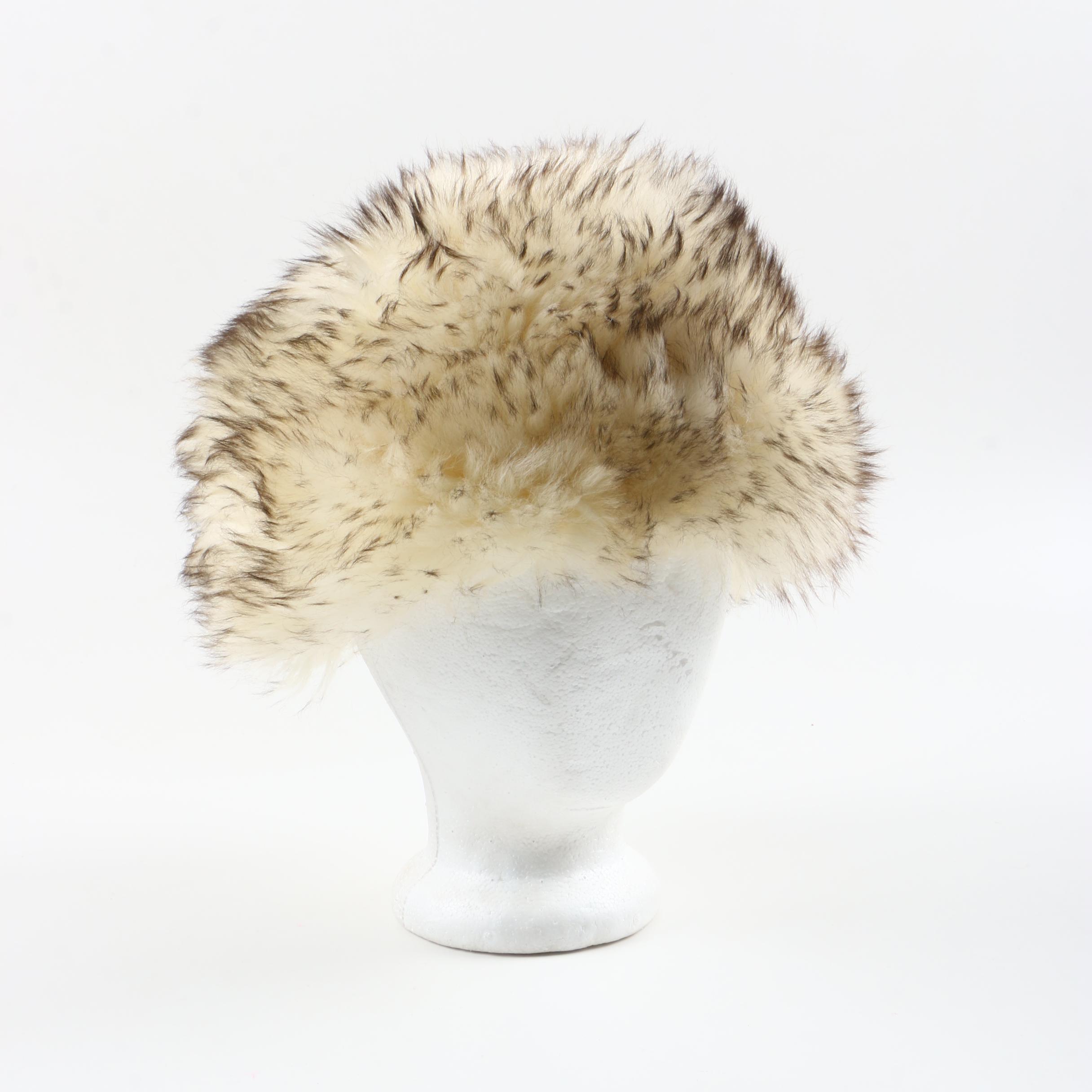Vintage Italian Lamb Fur Hat