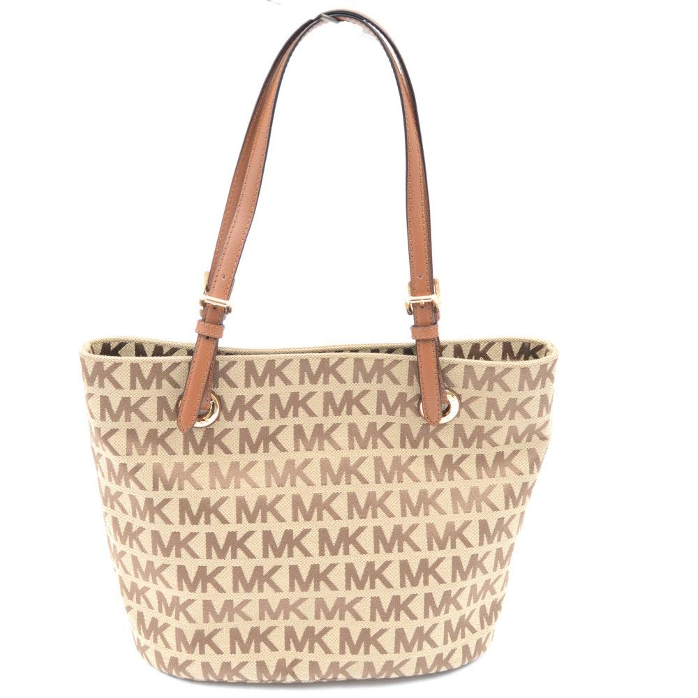 MICHAEL Michael Kors Canvas Bucket Bag