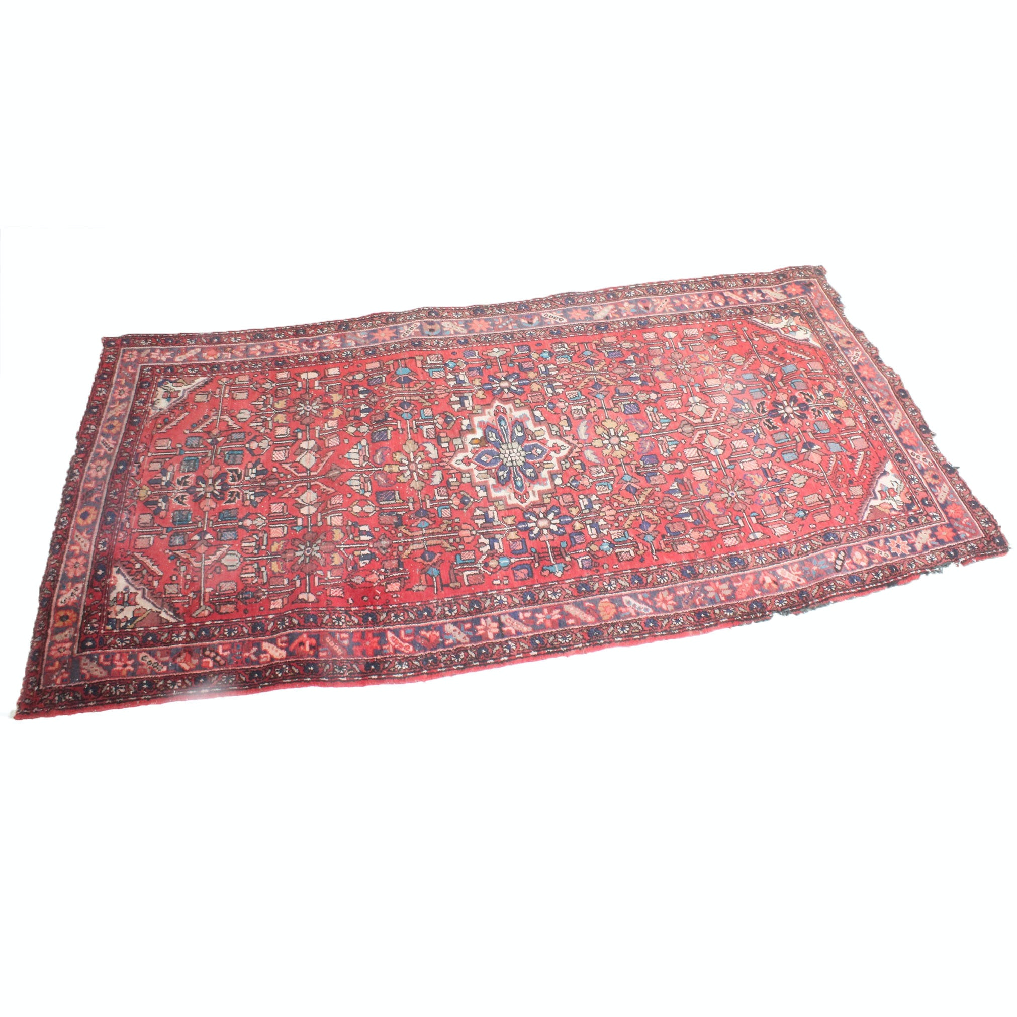 Hand-Knotted Persian Malayer Room Size Rug