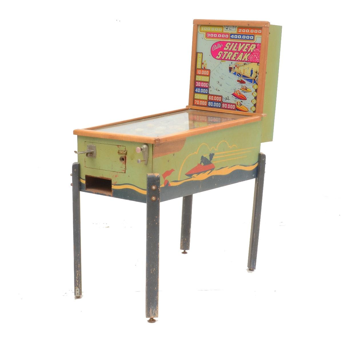 "1947 Bally ""Silver Streak"" Pinball Machine"
