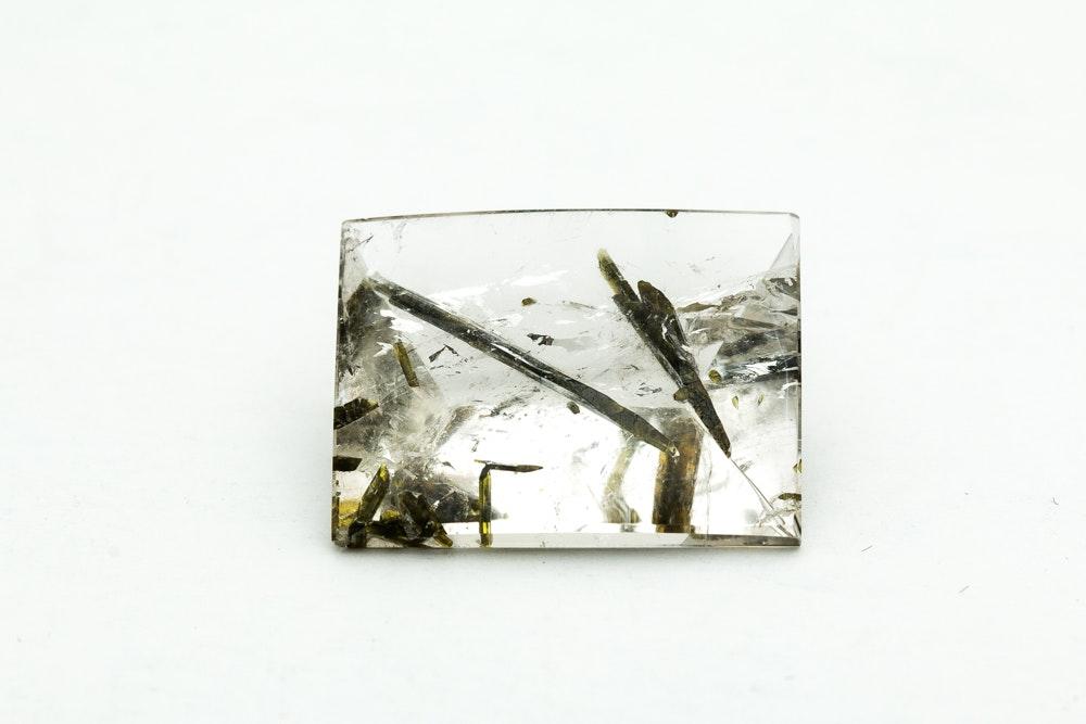 48.11 Carat Loose Tourmalinated Quartz