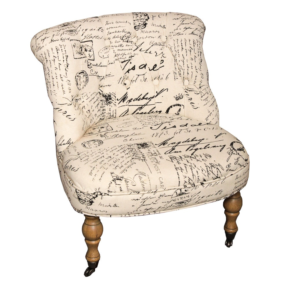 French Style Accent Chair ...
