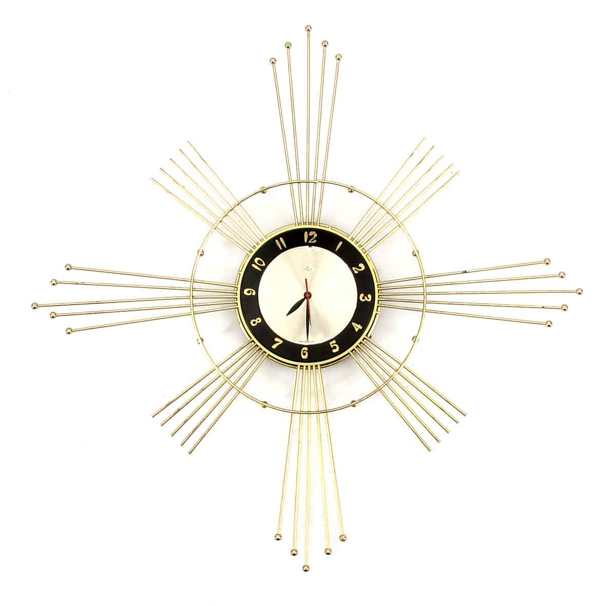 Lux Atomic Style Wall Clock