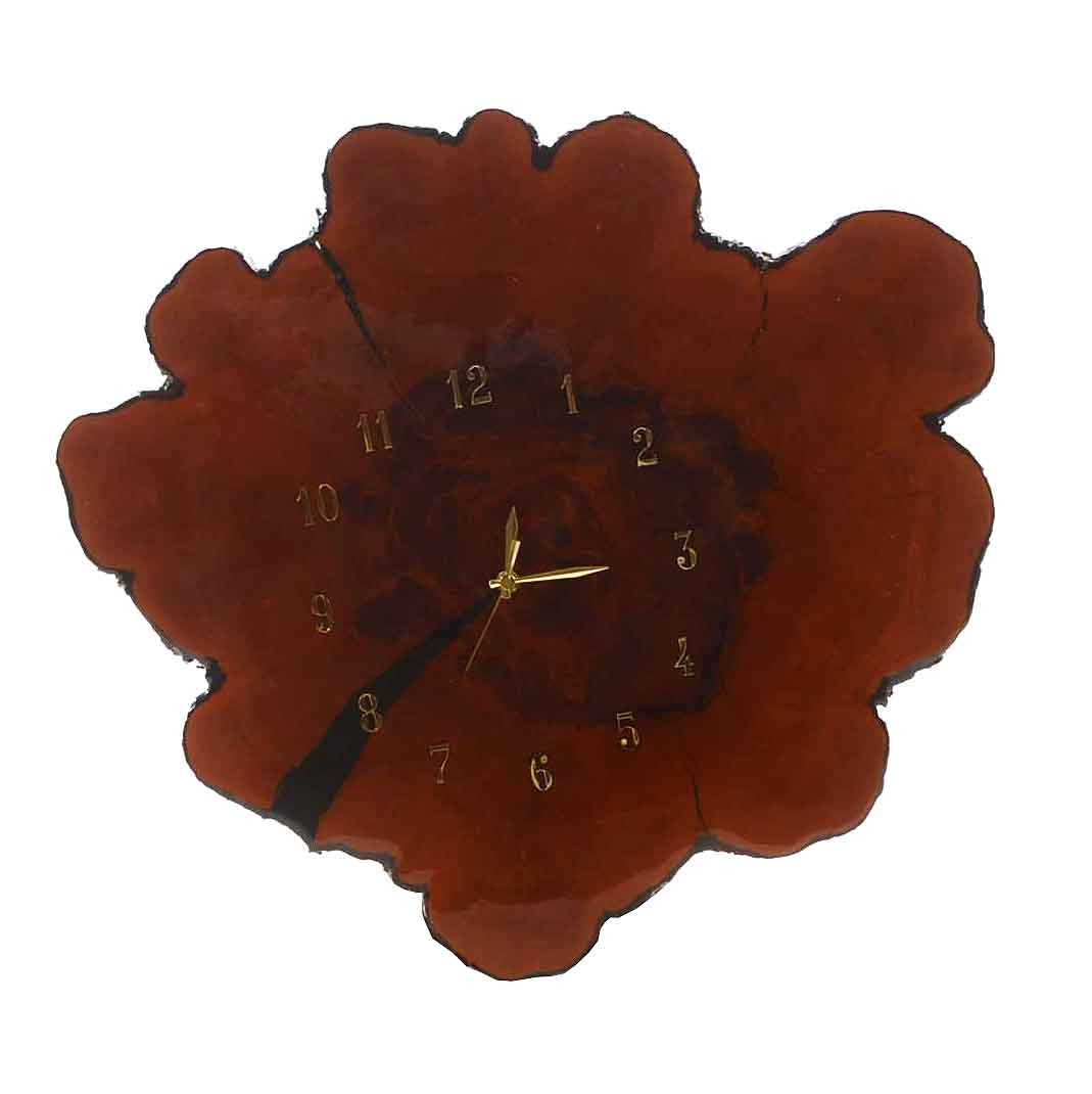 Tree Section Wall Clock