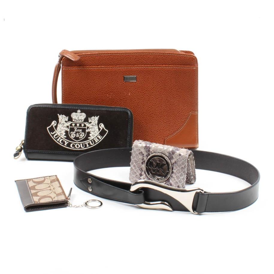 Armani, Michael Kors,  Juicy Couture and Daks Designer Accessories