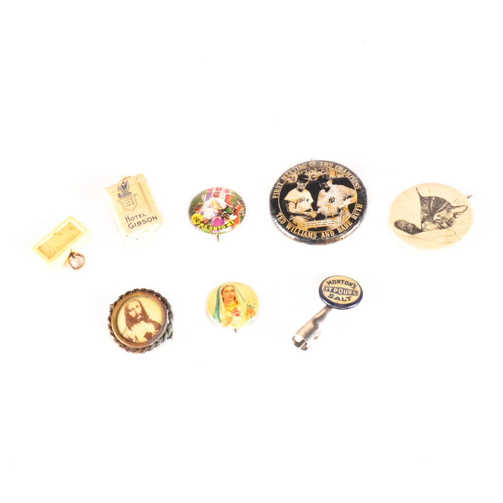 Pinbacks and Souvenirs