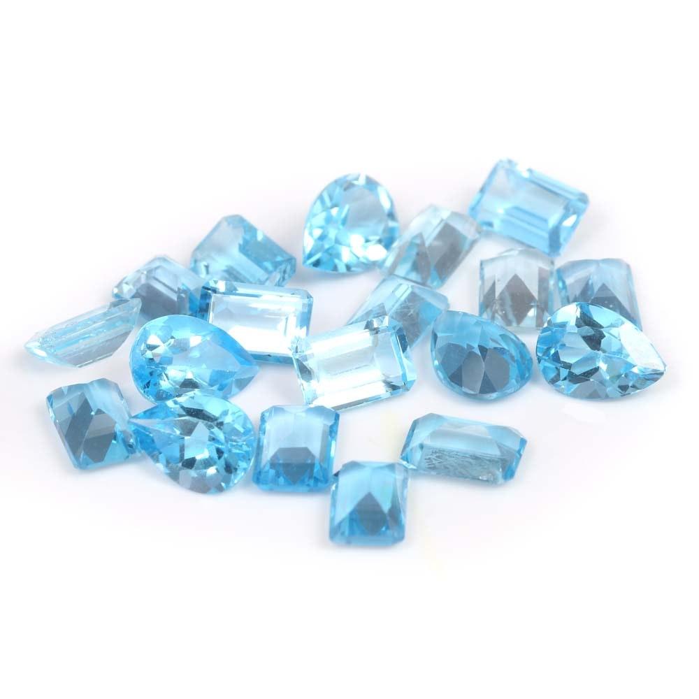 13.00 CTW Loose Blue Topaz Gemstones