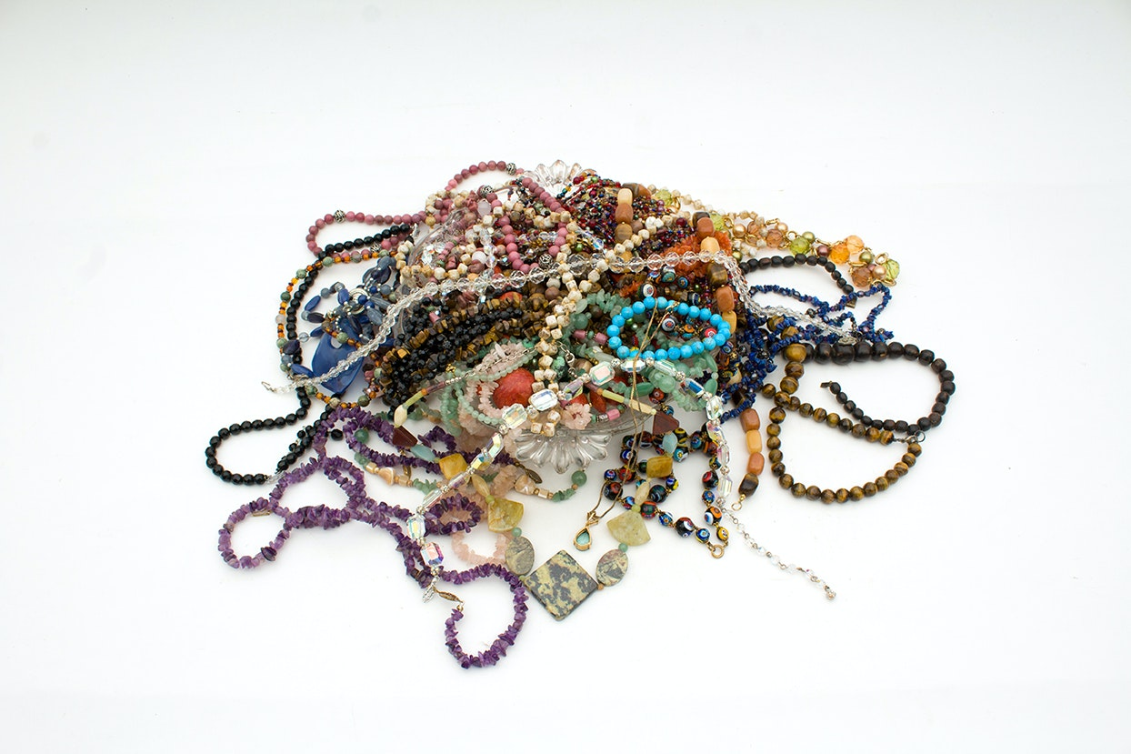 Beaded Necklaces and Jewelry