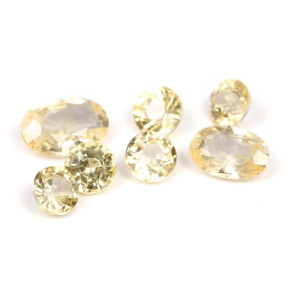 2.00 CTW Loose Yellow Sapphires