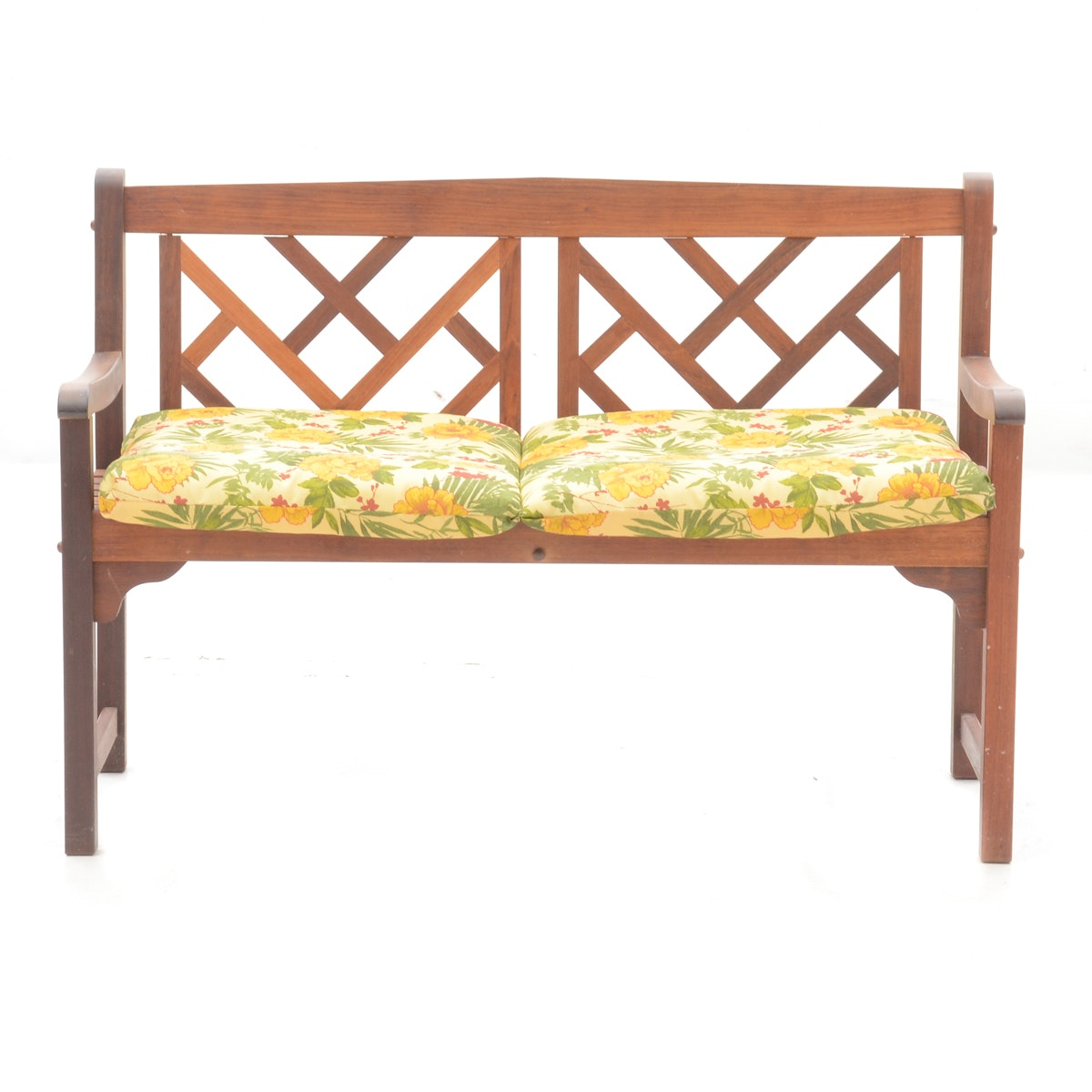 Chippendale Style Outdoor Bench