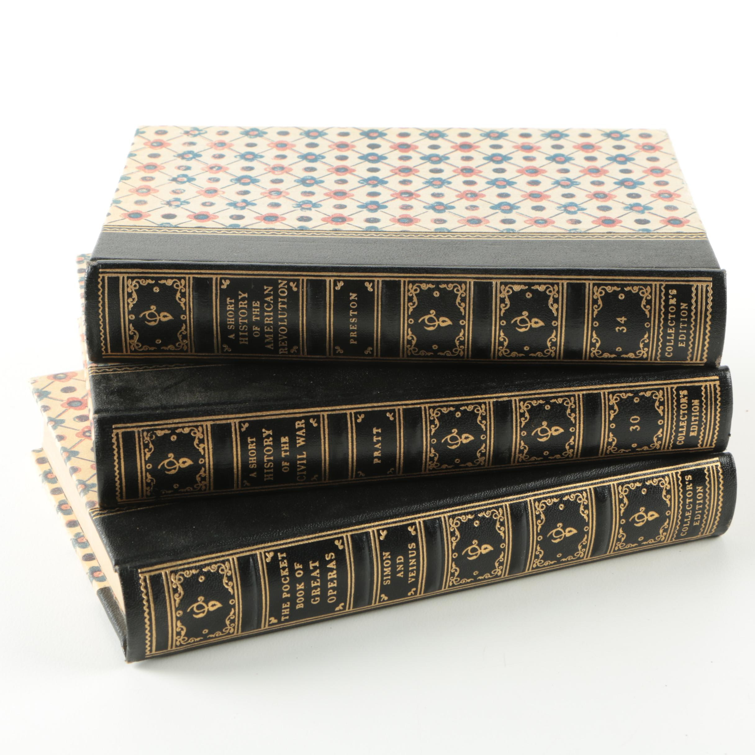 Vintage Collector's Edition Books