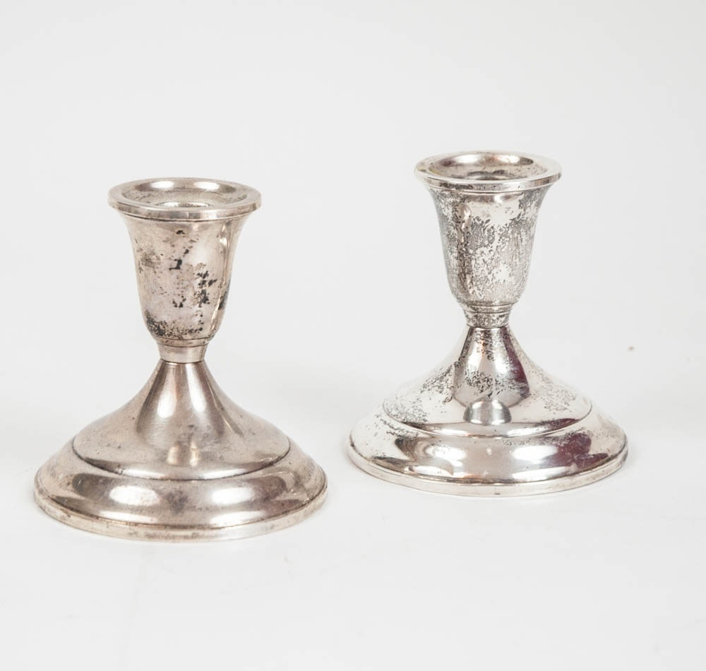 Towle Weighted Sterling Silver Candlesticks