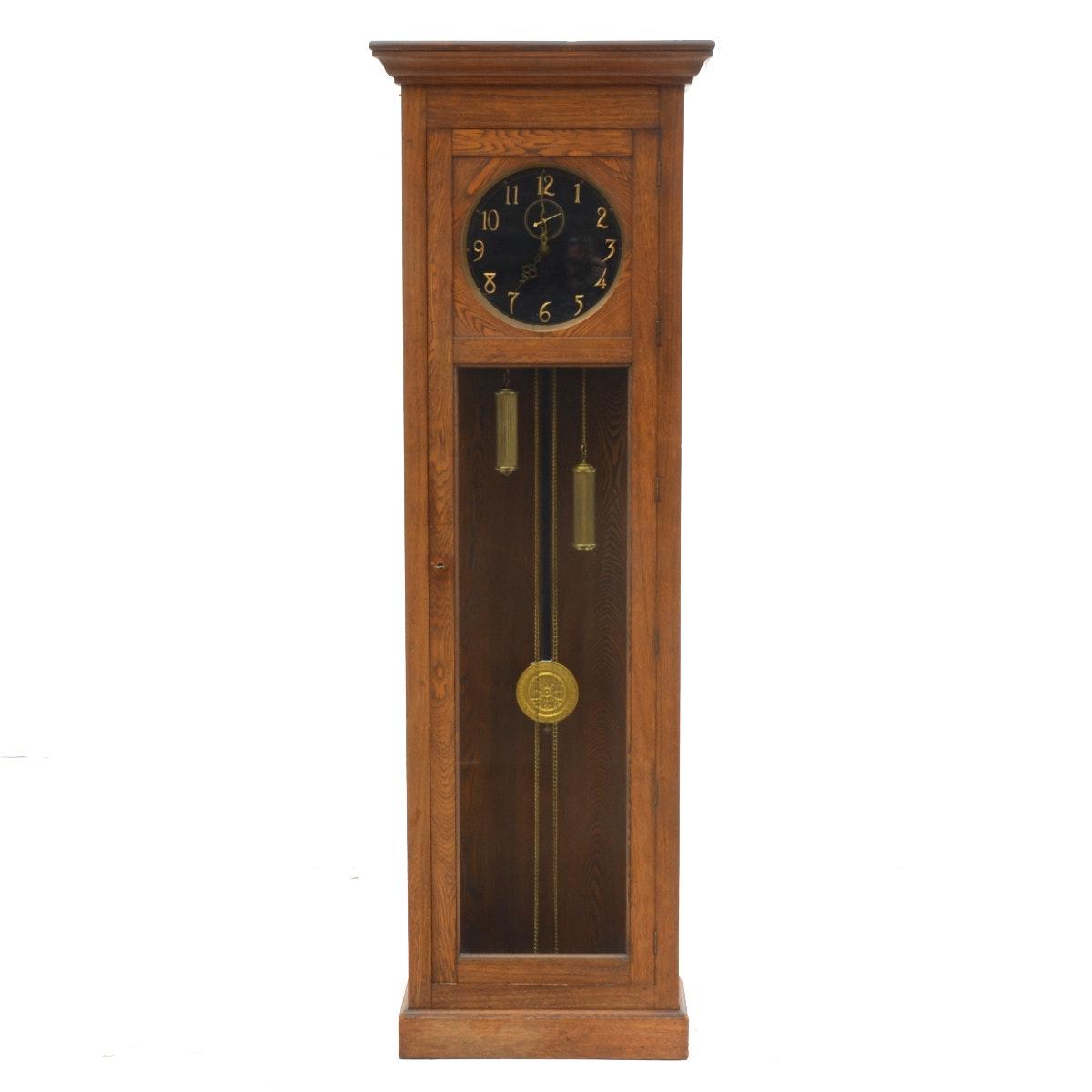 Vintage Tall Hall Clock