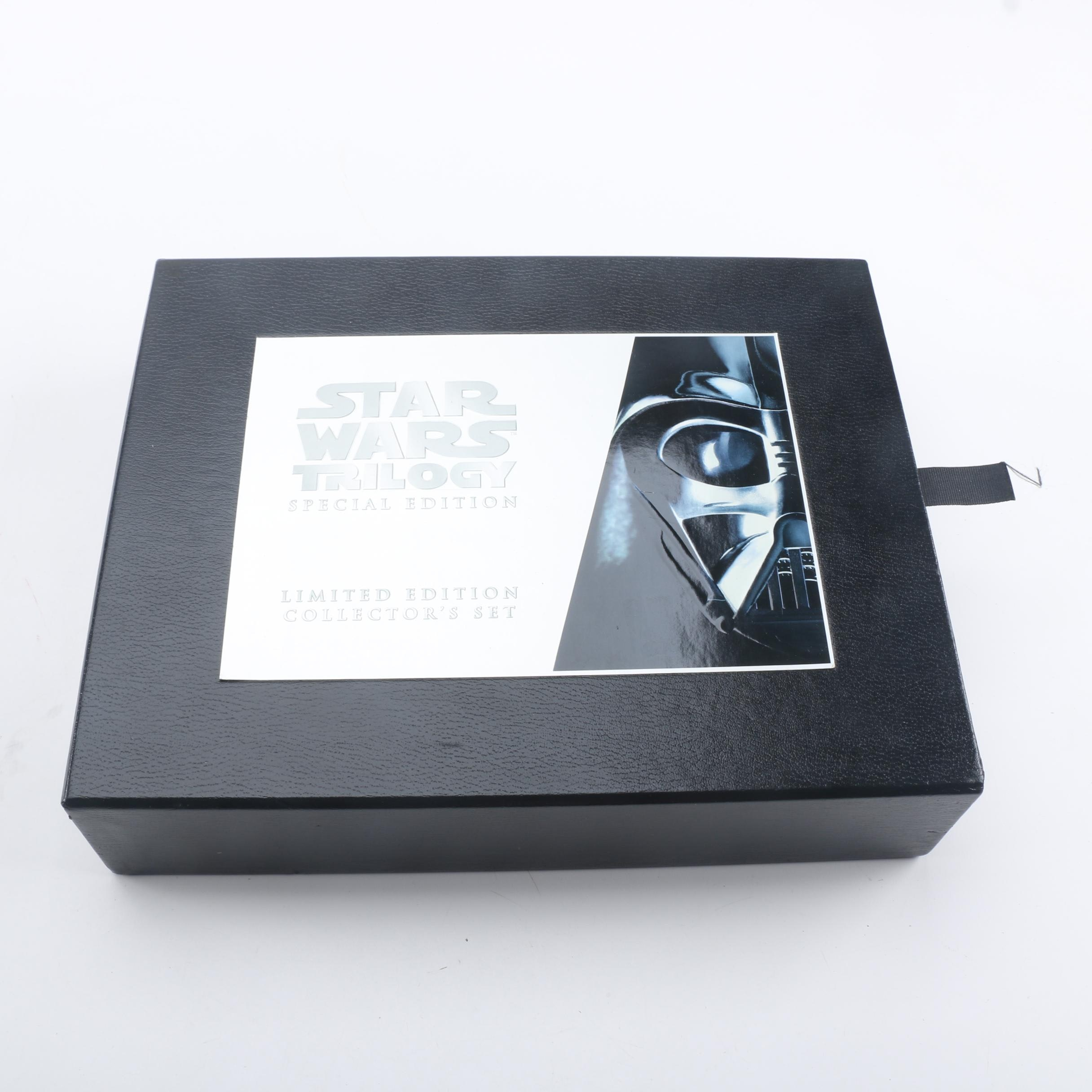 """Star Wars"" Special Limited Edition Collector's Set on Videotape"