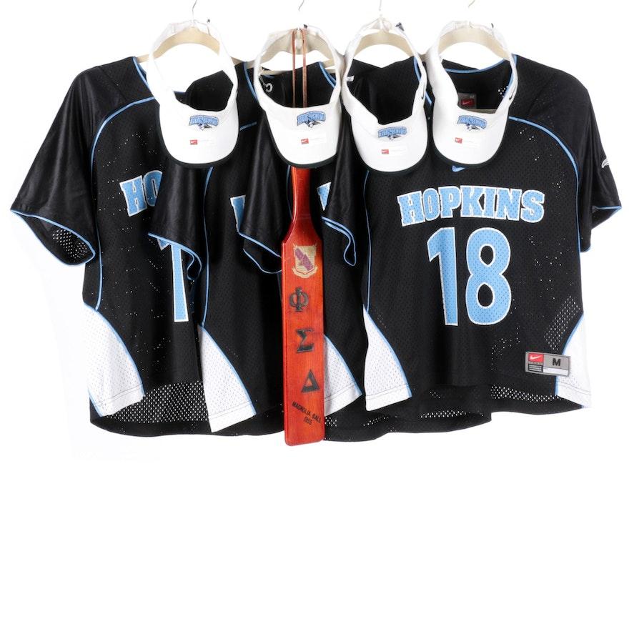 best service c4173 d1d1f Johns Hopkins Blue Jays Lacrosse Apparel