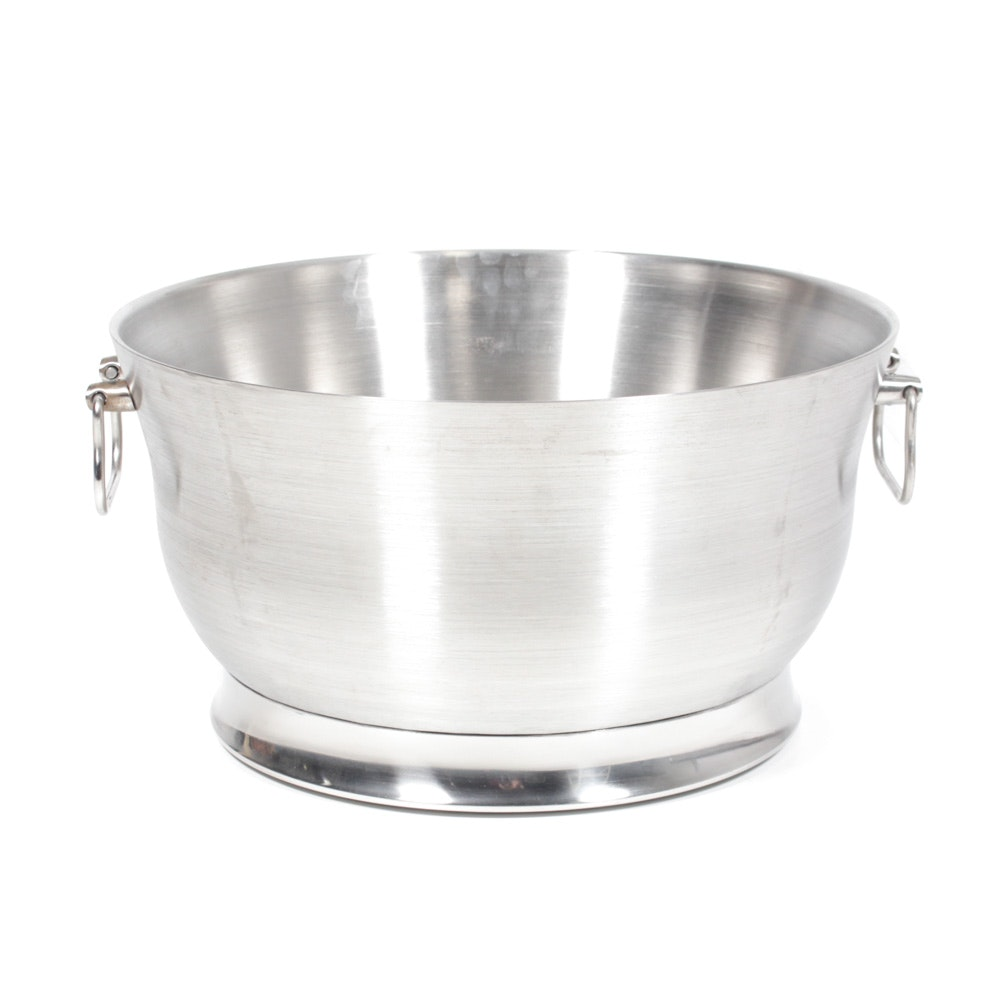 Large Frontgate Metal Drink Tub