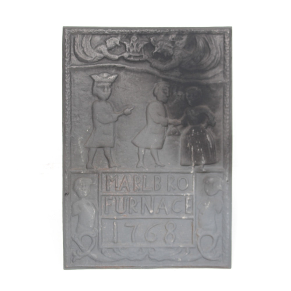Reproduction Cast Iron Fireback