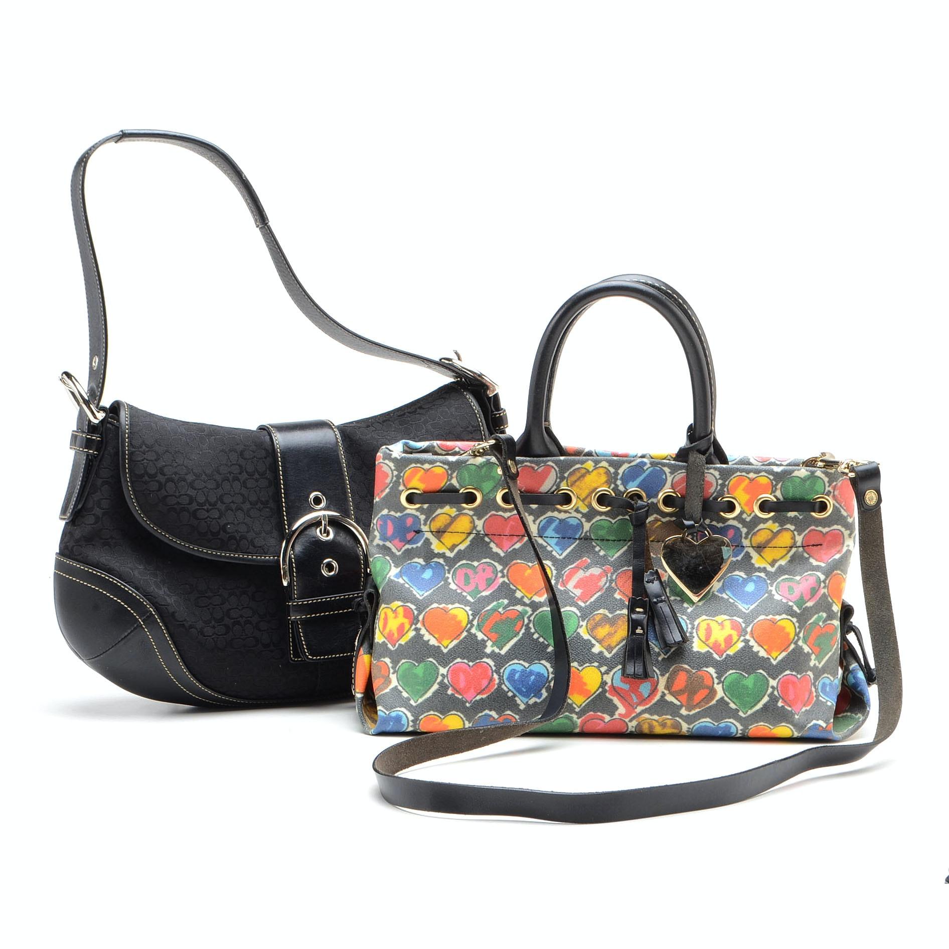Coach and Dooney & Bourke Handbags