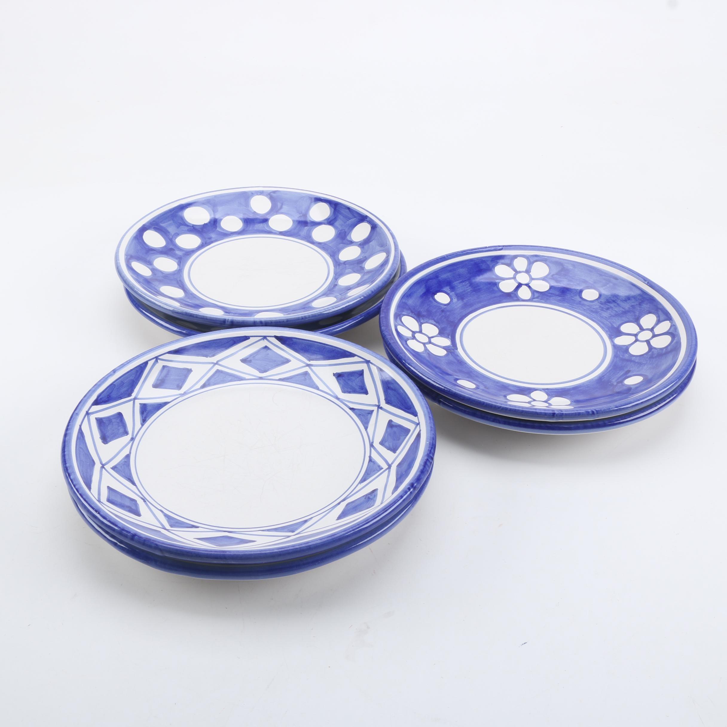 Italian Earthenware Dinner Plates ... & Italian Earthenware Dinner Plates : EBTH