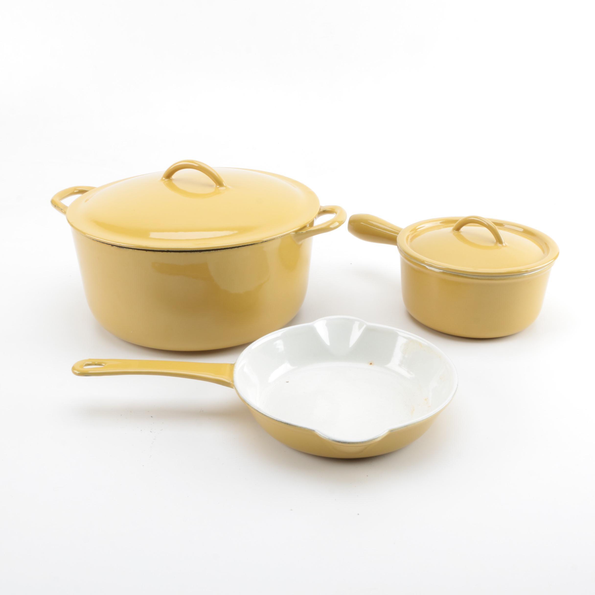 Vintage Descoware Cookware