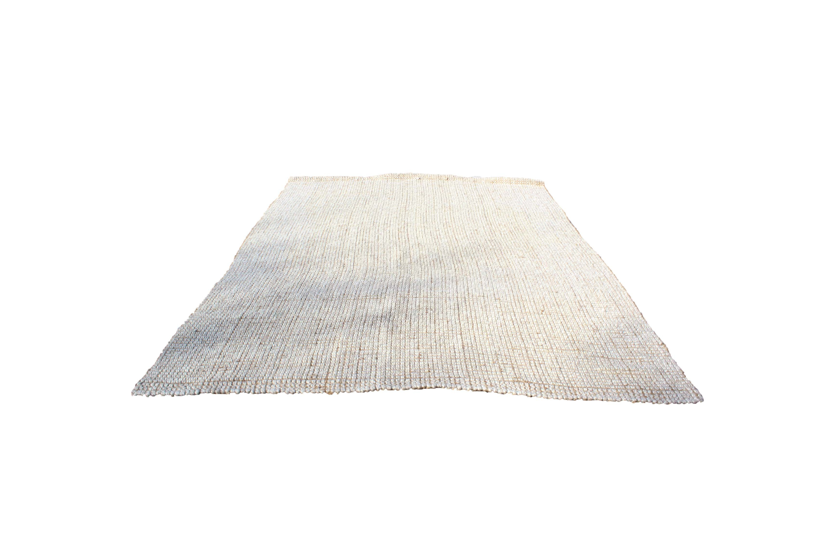 Woven Pottery Barn Wool and Jute Area Rug