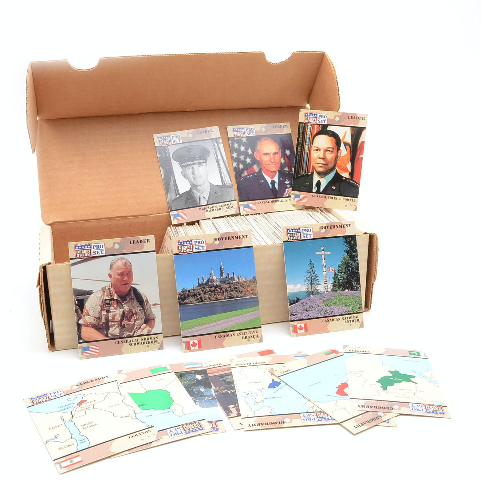 1991 Pro Set Gulf War Cards