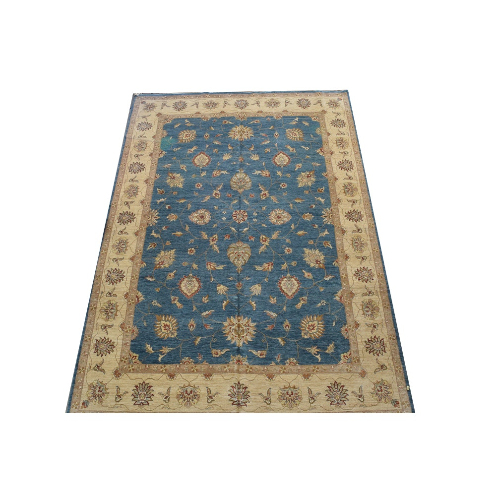 Hand-Knotted Peshawar Style Area Rug