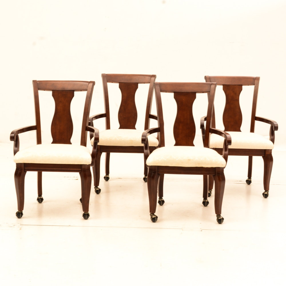 Set of Bassett Furniture Arm Chairs