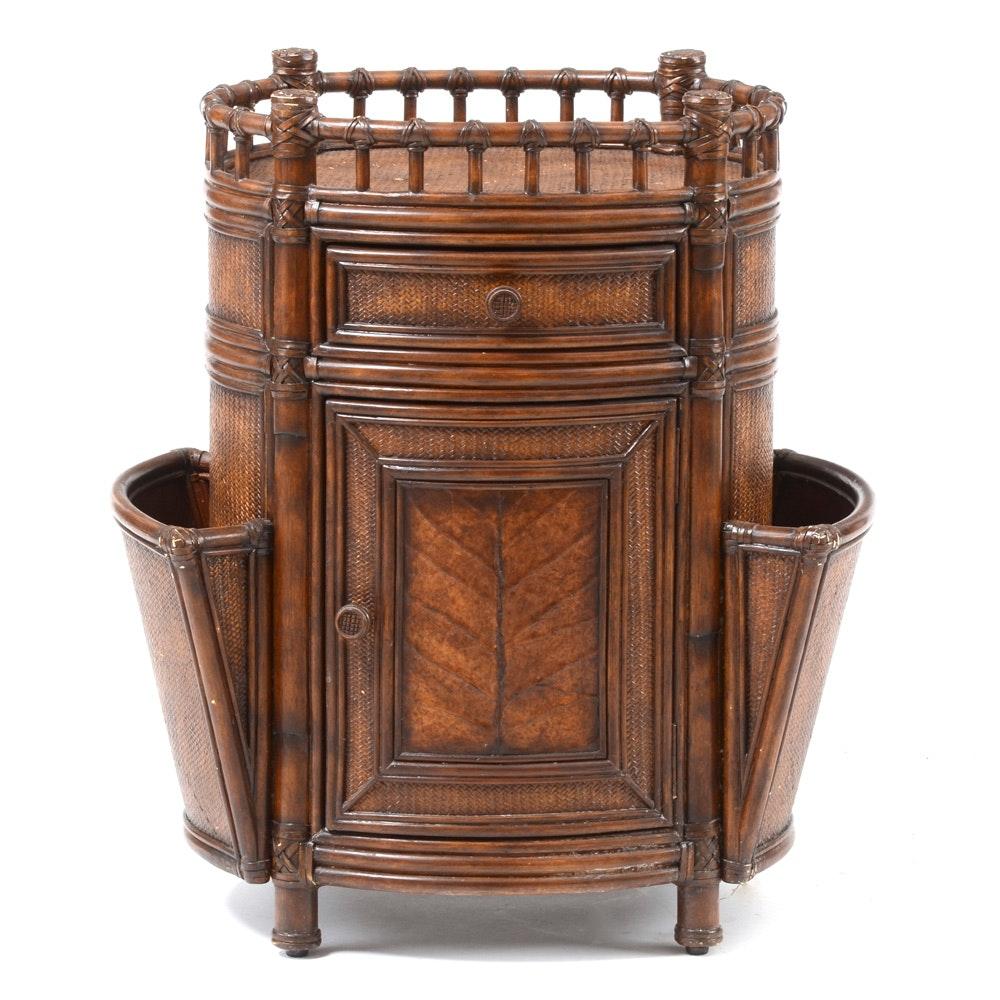 """Seven Seas"" Magazine Cabinet by Hooker Furniture"