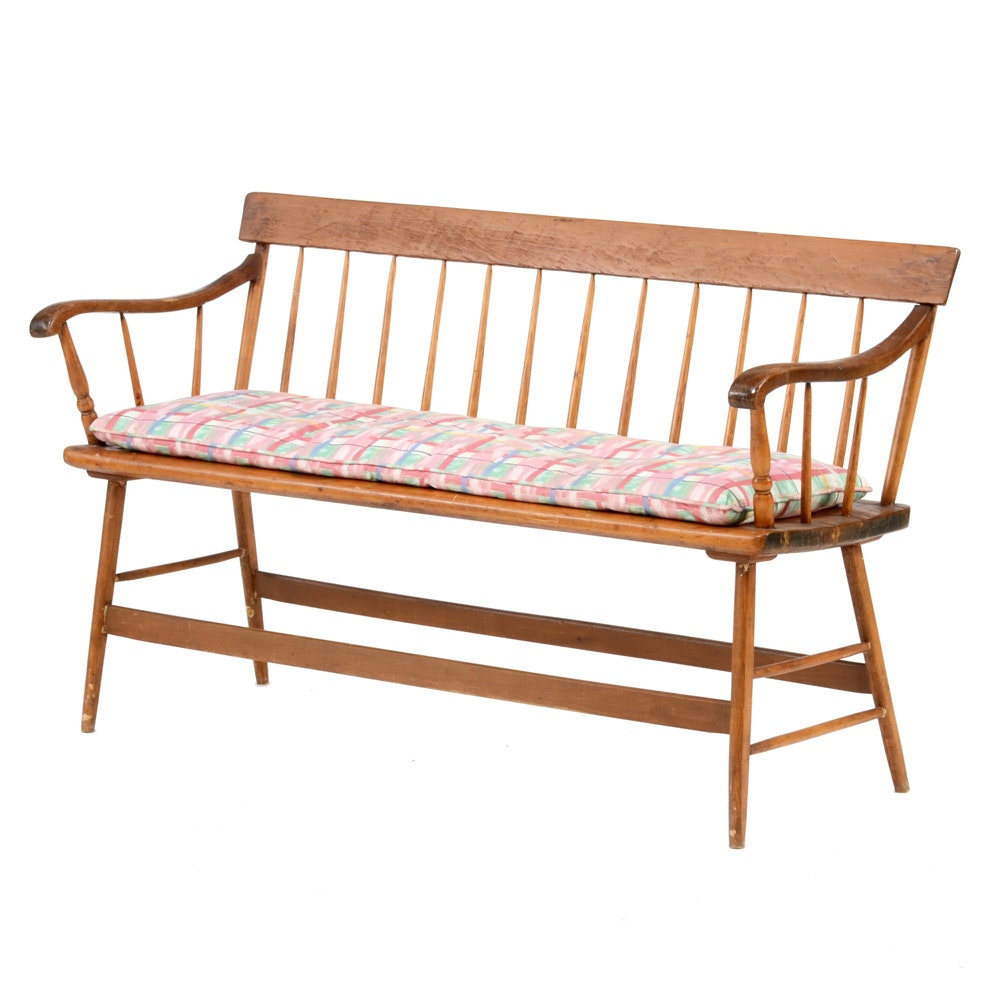 WIndsor Style Bench