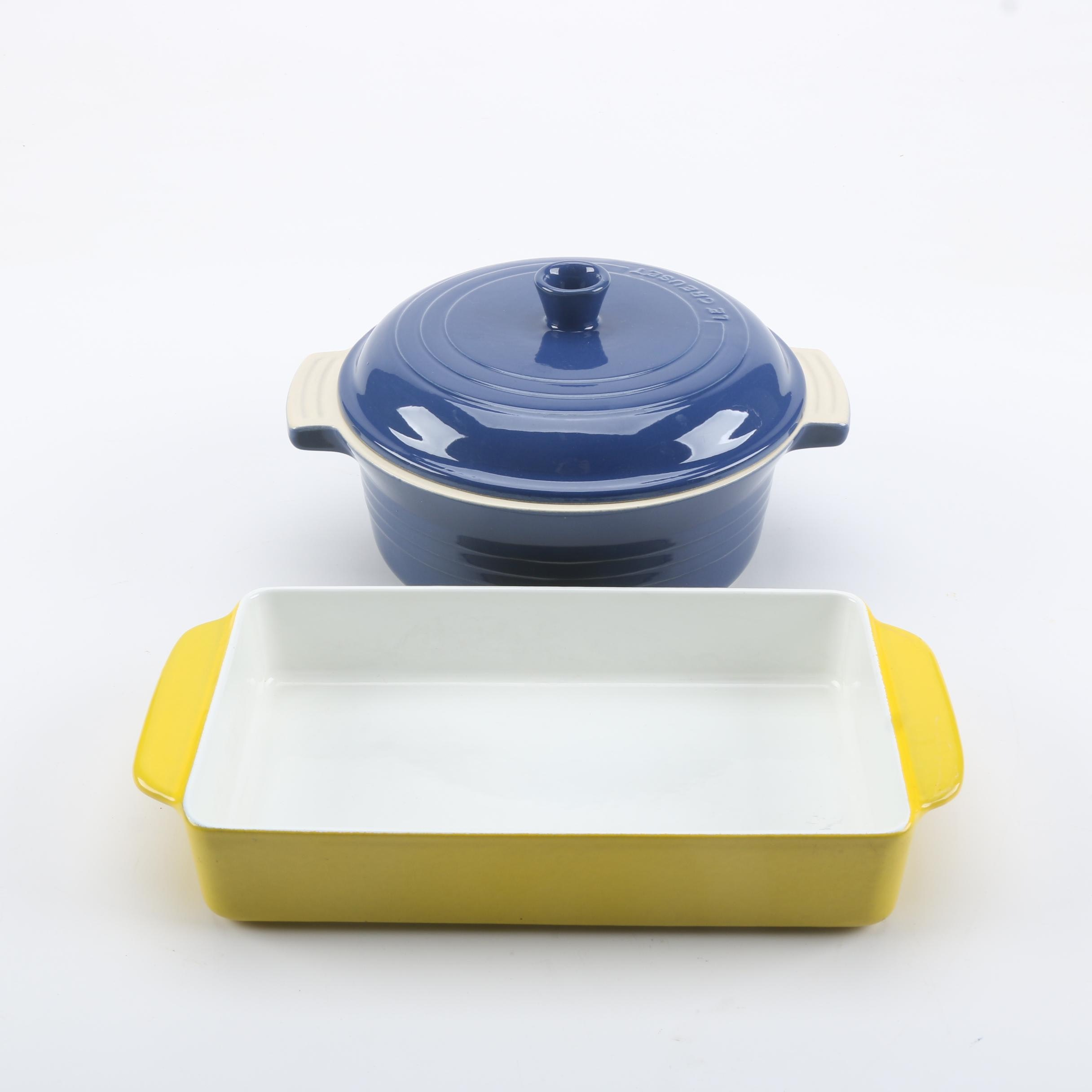 Le Creuset and Copco Enameled Cast Iron Cookware