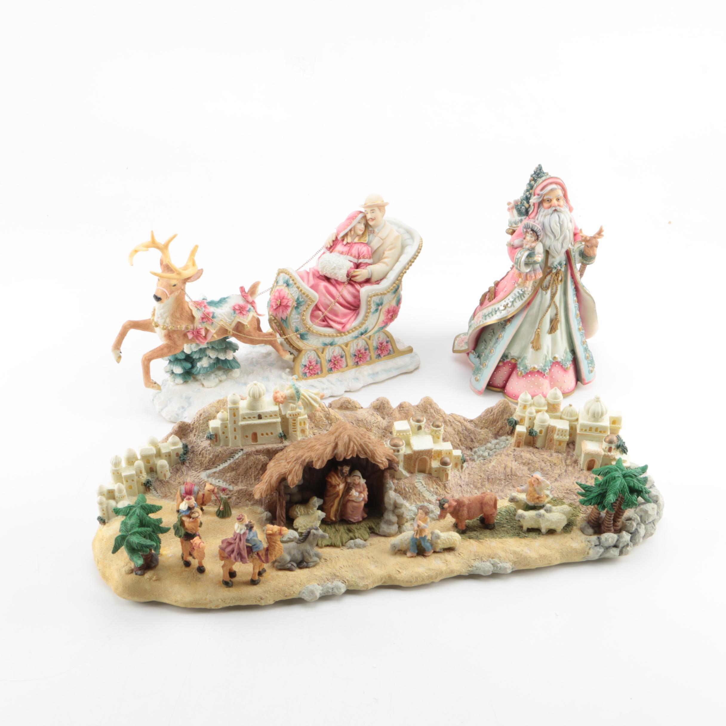 Musical Christmas Decor by San Francisco Music Box Co.