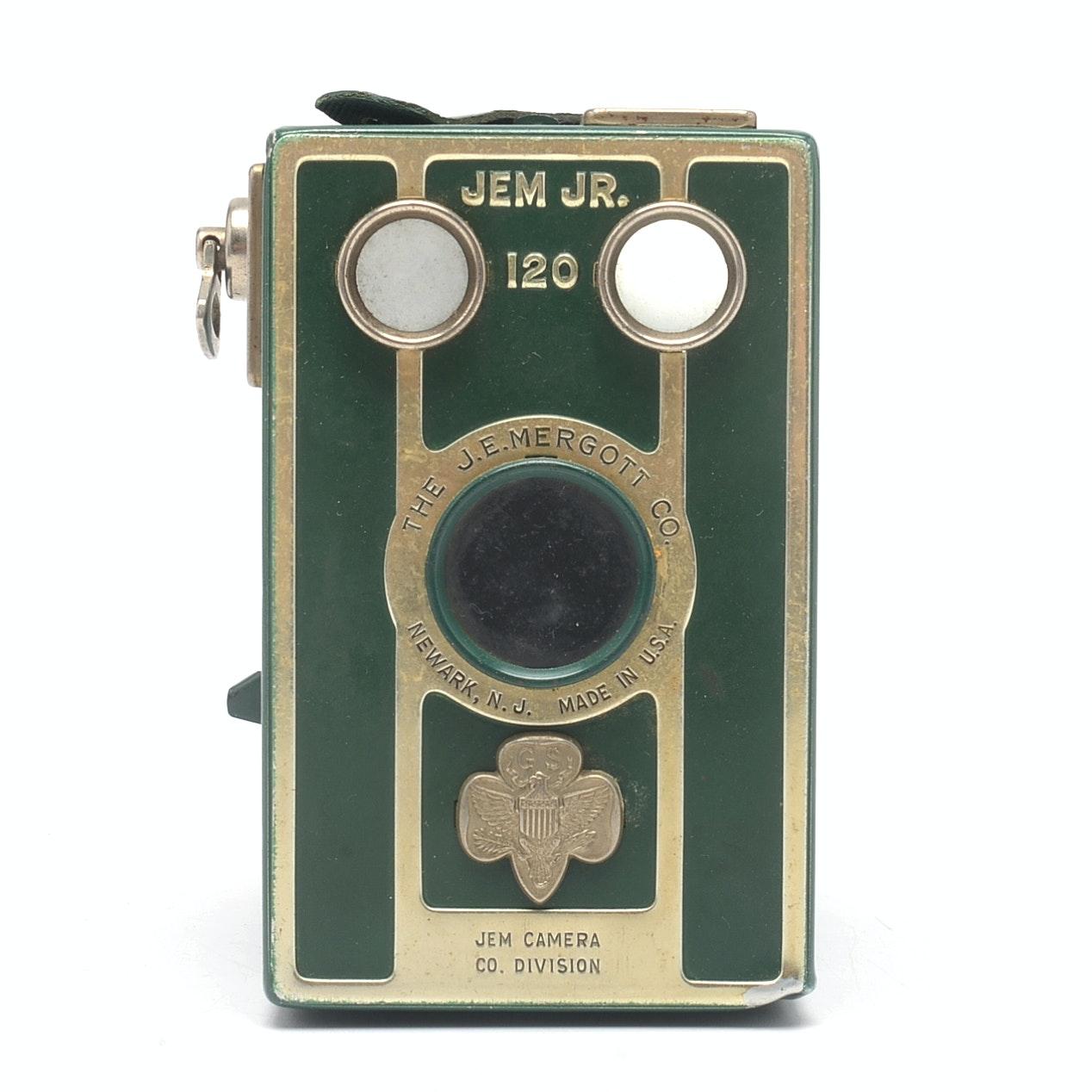 Vintage JEM Jr Girl Scout Camera