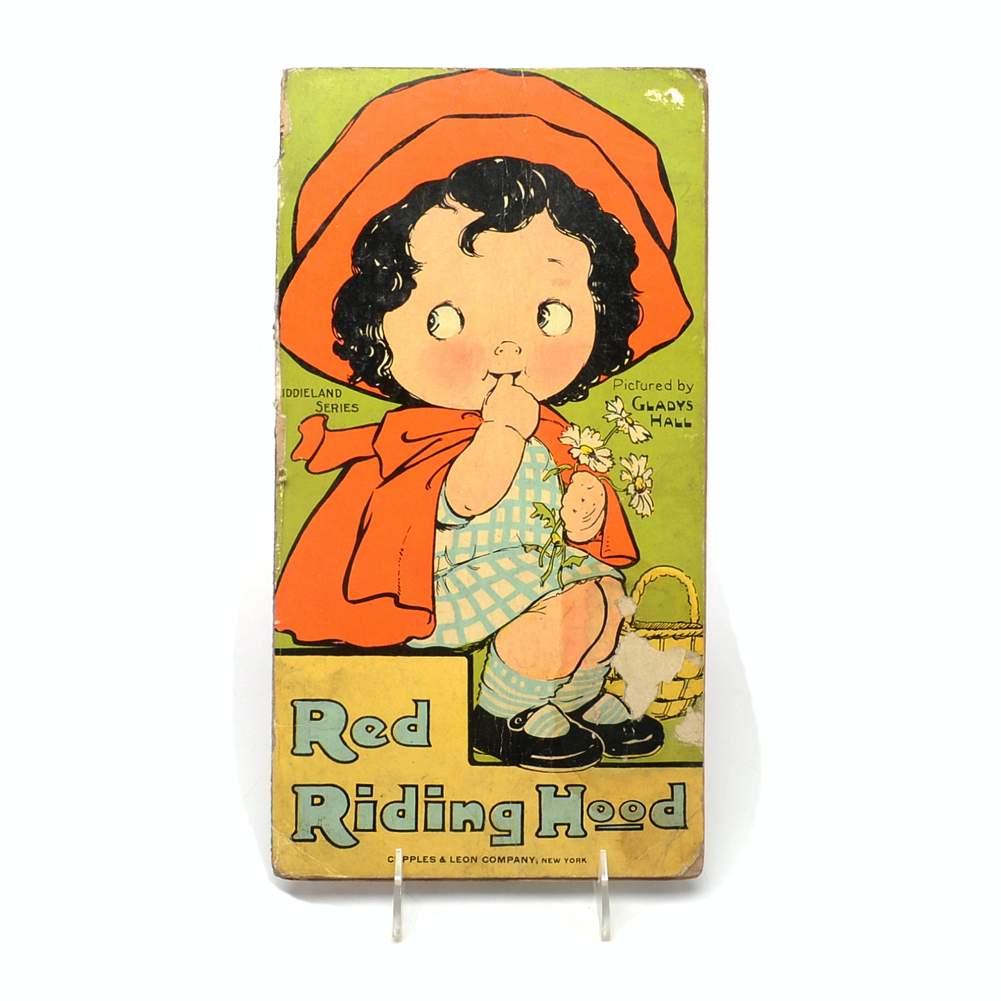 """1915 """"Red Riding Hood"""" Oversized Childs Book"""
