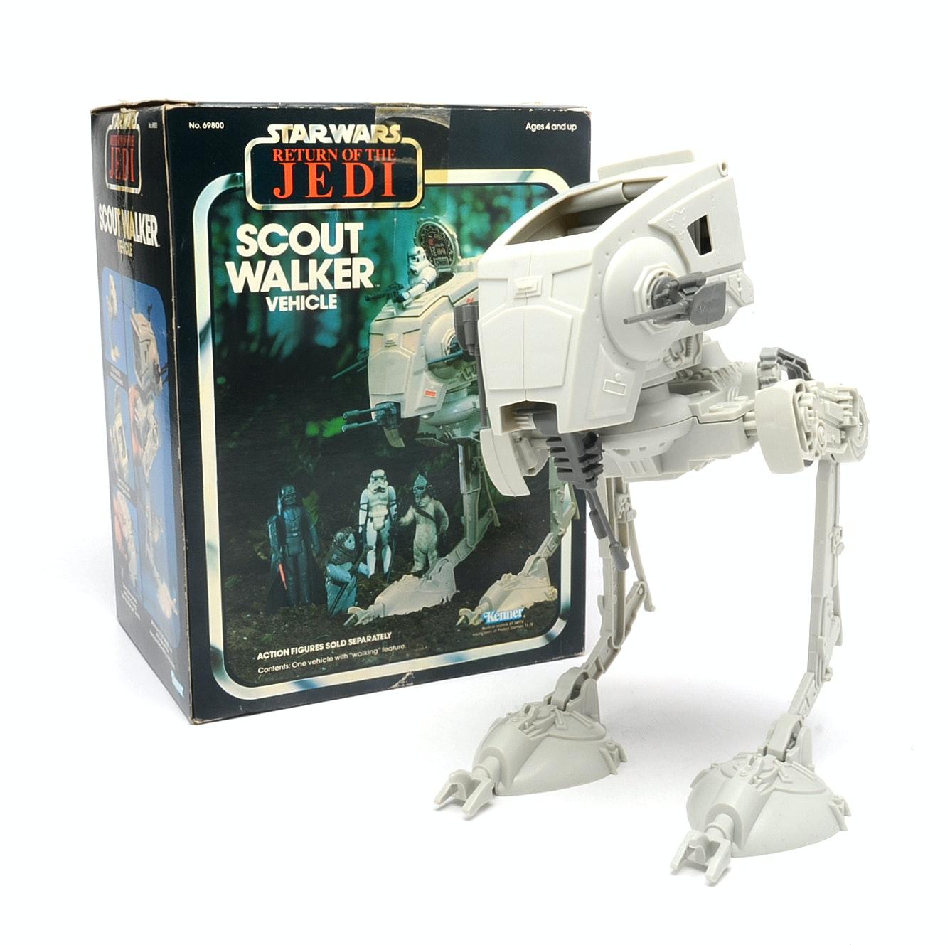 1983 Star Wars Scout Walker Vehicle Toy