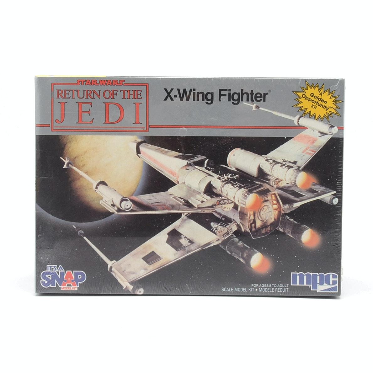 1983 Star Wars X-Wing Fighter Model Kit