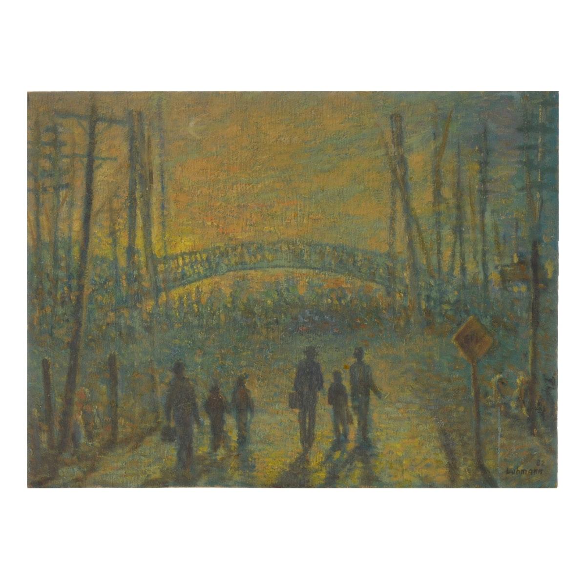 Robert Lahmann Original Oil Painting on Board