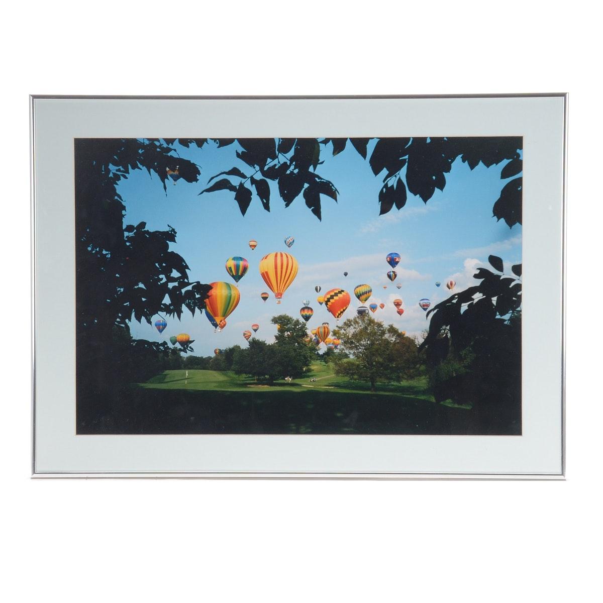 "Vintage Color Photograph ""Middletown Balloon Festival"""