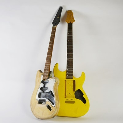 Samick Greg Bennet Series Electric Guitar and Tesico Electric Guitar