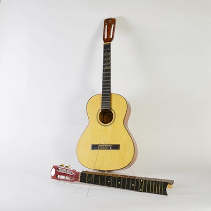 Santa Rosa Folk Guitar Company Standard Acoustic And Parts