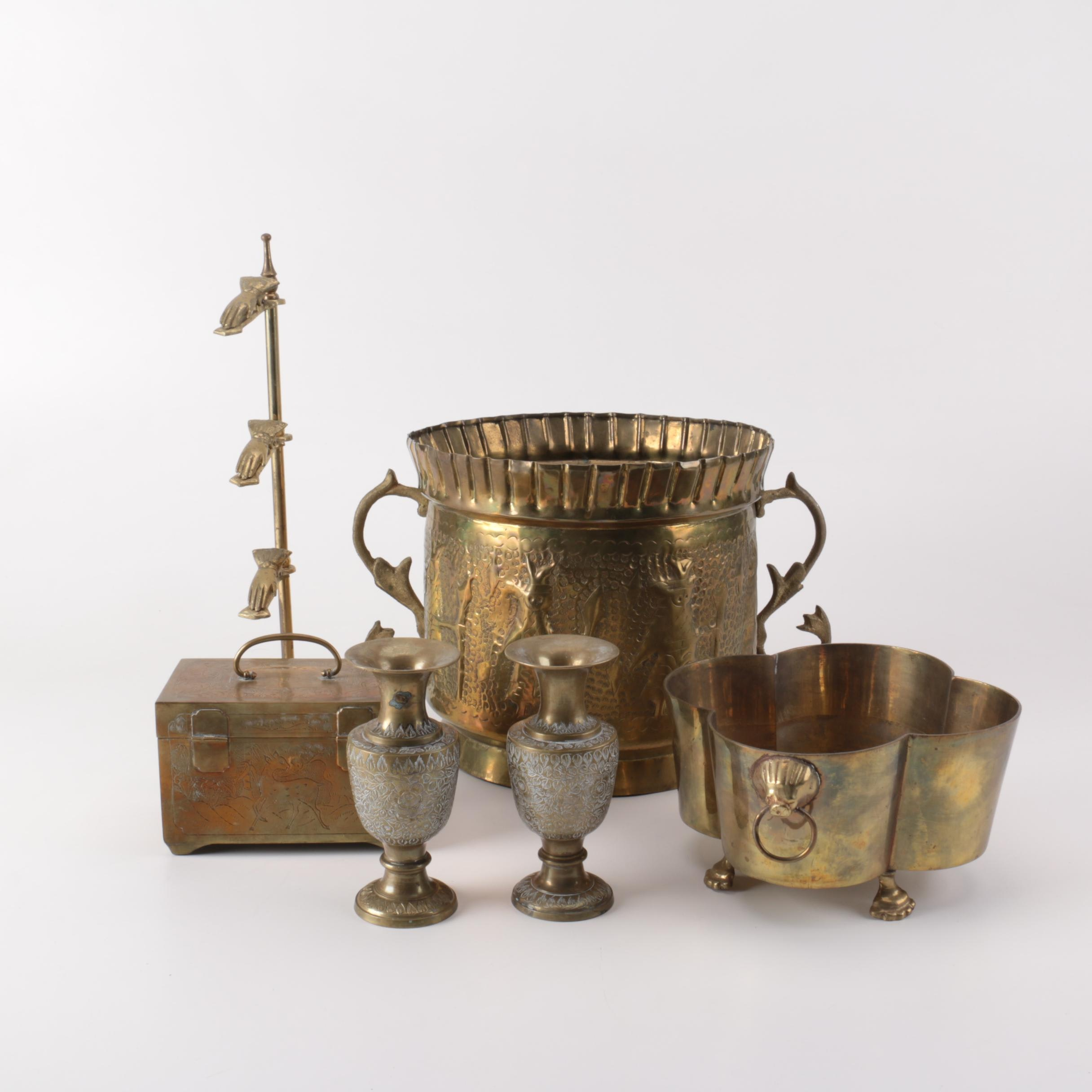 Selection of Brass Decor