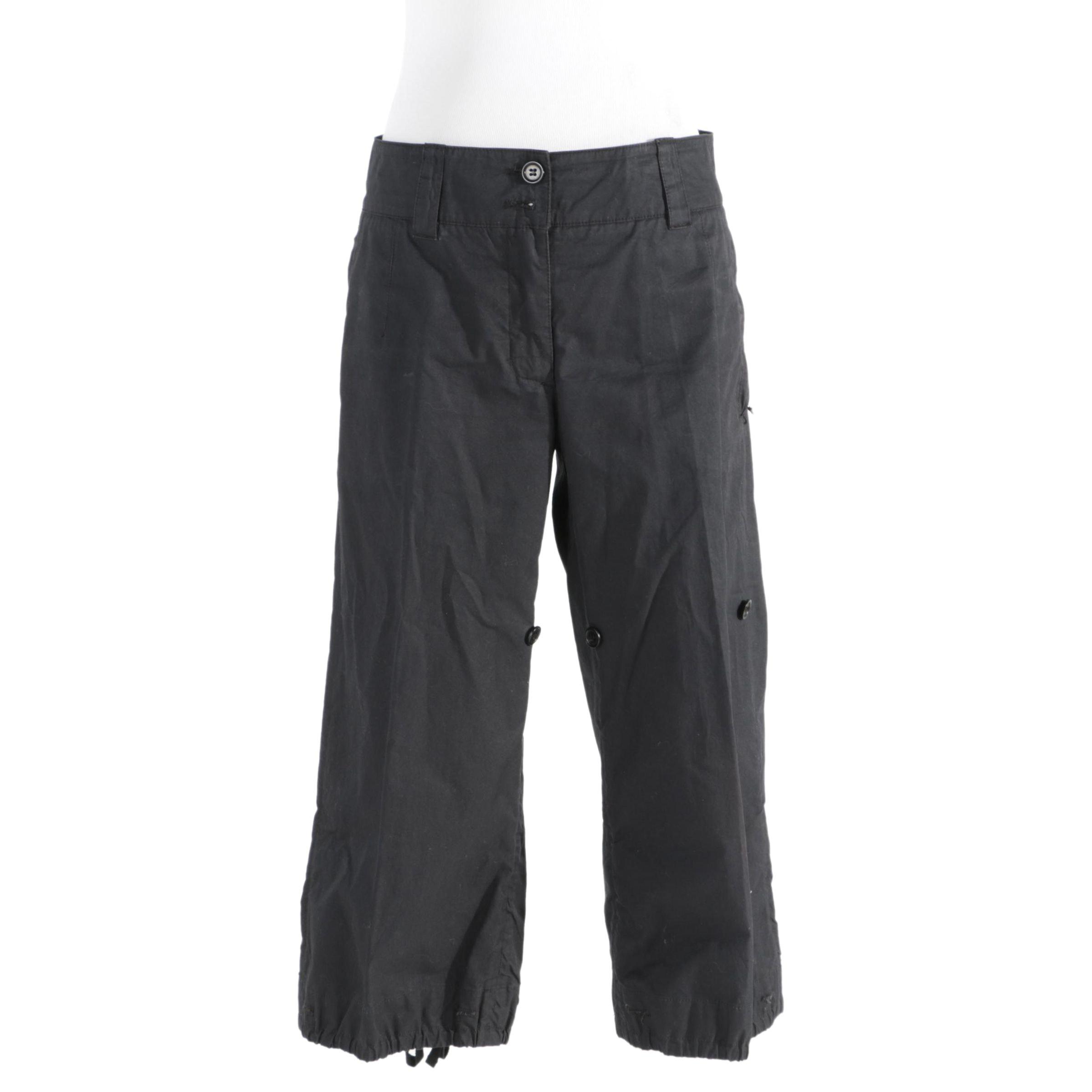cargo trousers - Black Prada