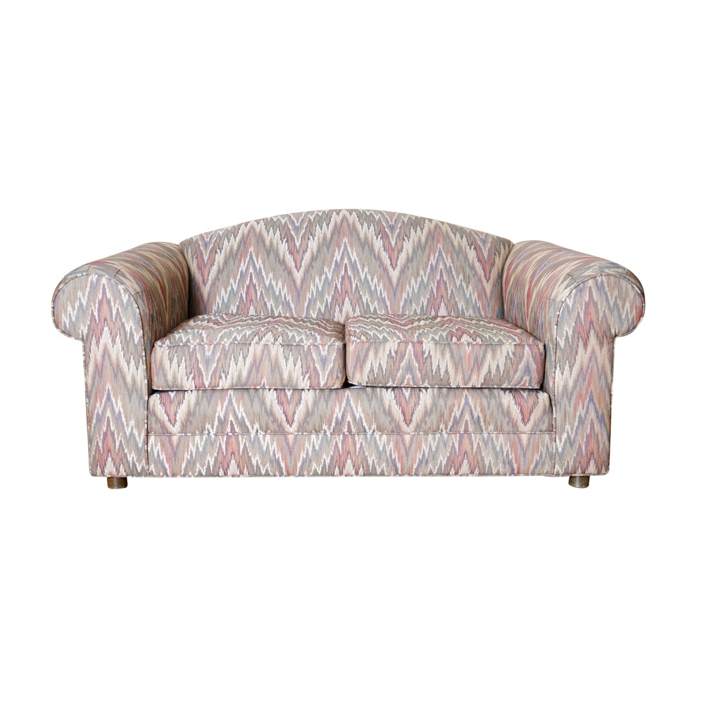 Upholstered Loveseat by Ethan Allen