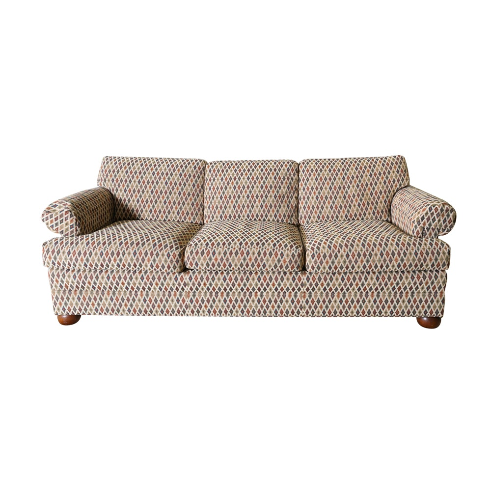 Sofa With Southwest Style Upholstery By Harden Furniture ...