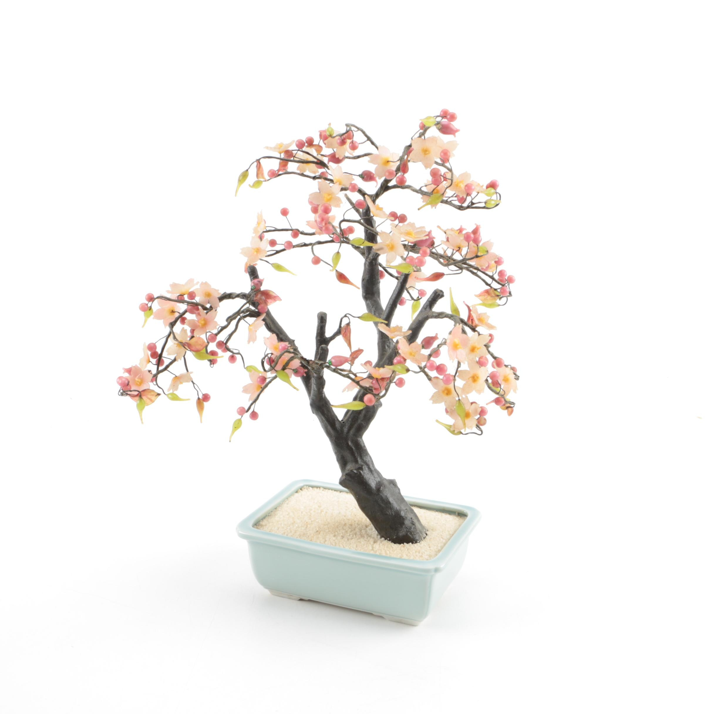 Buds Auto Sales >> Decorative Bonsai Cherry Tree : EBTH