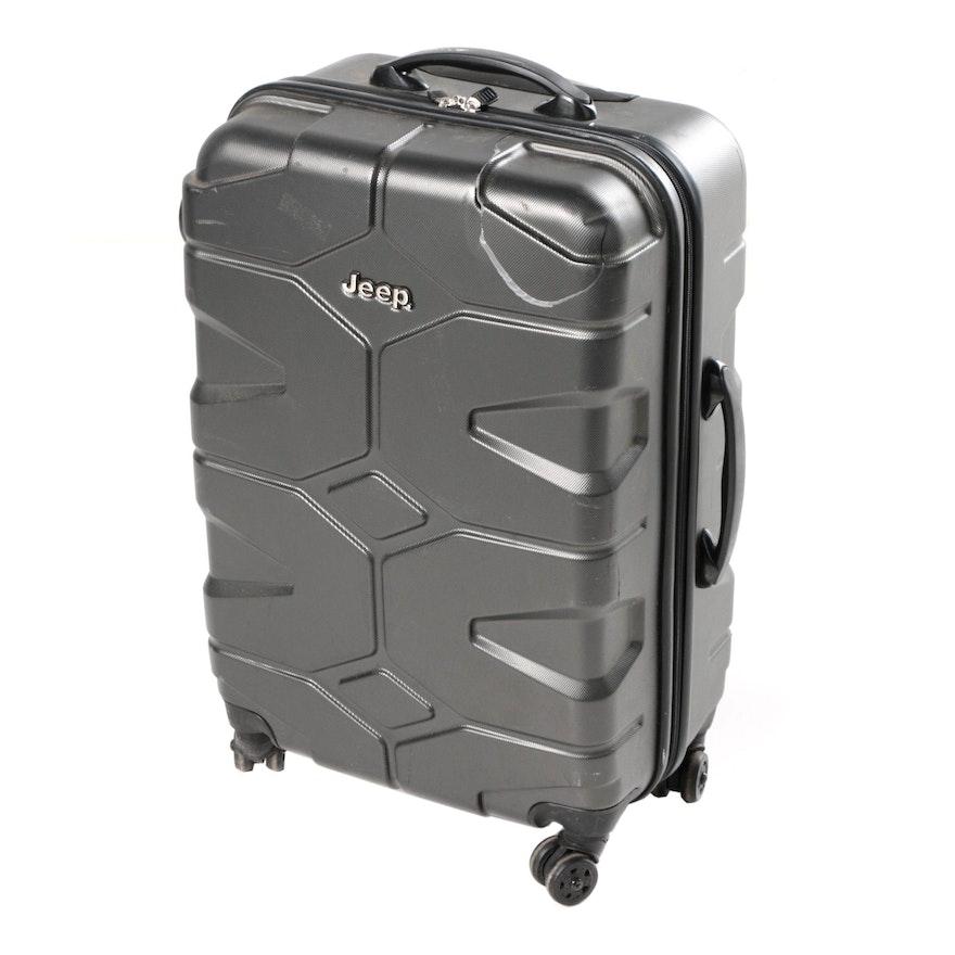 0851b7eb006 Jeep Brand Hardshell Suitcase   EBTH