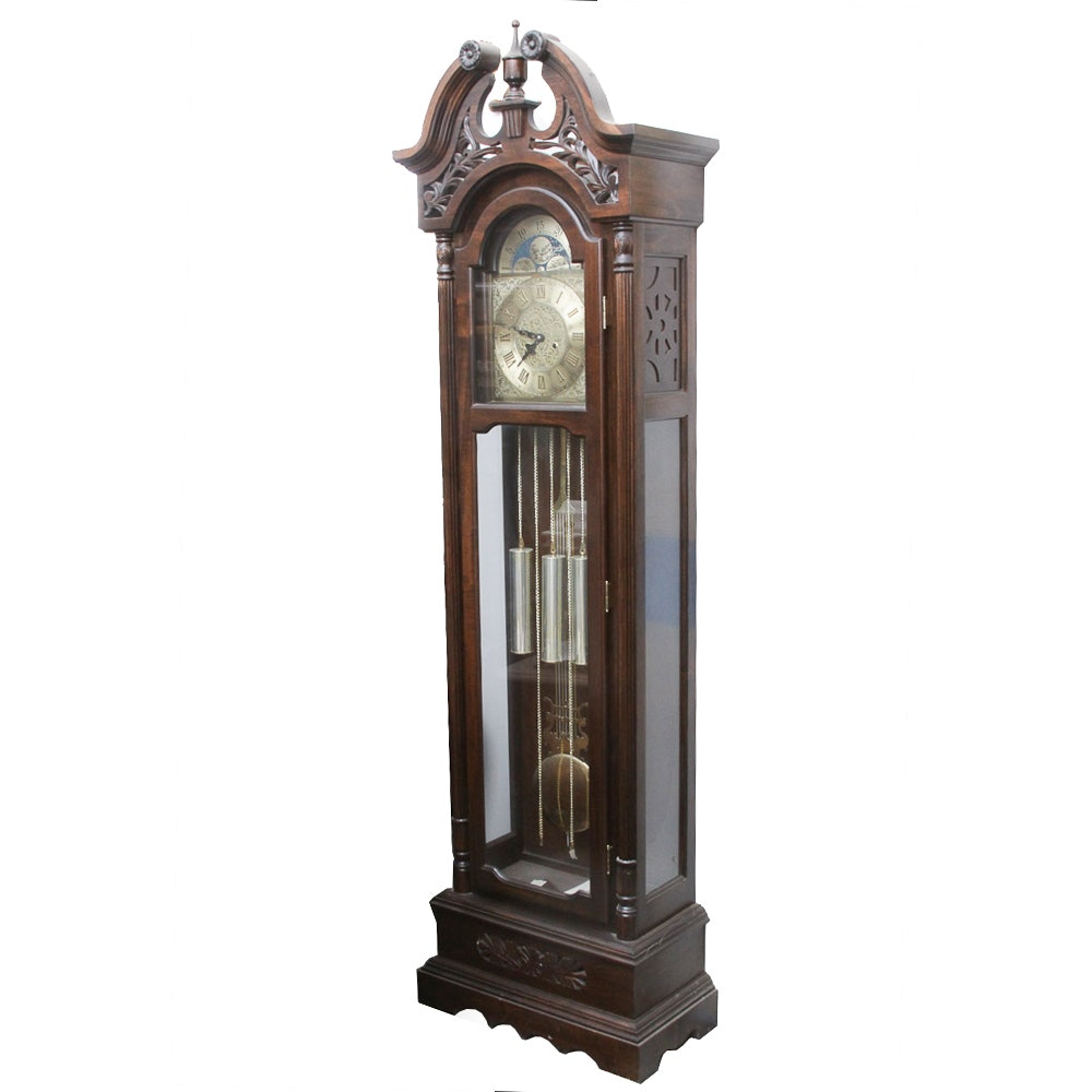 31-Day Wood Grandfather Clock